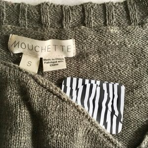 Urban Outfitters Tops - Urban Outfitters Olive Half Sleeve Sweater Top NWT